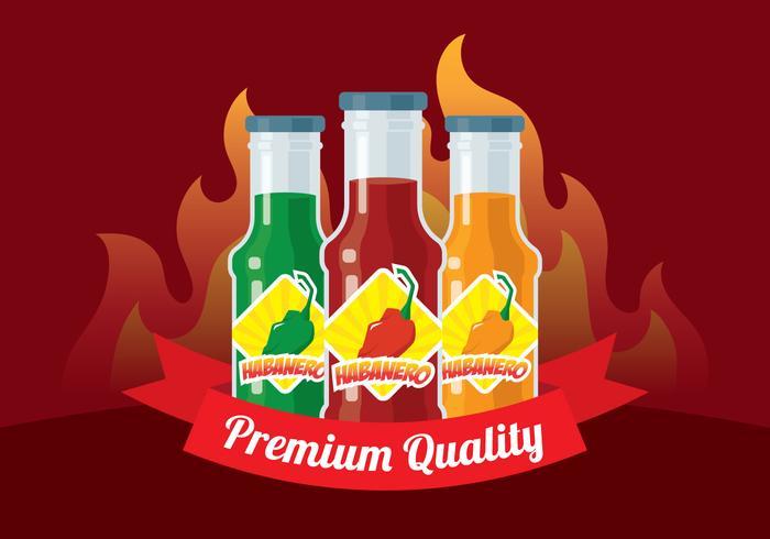 Habanero Sauce Background