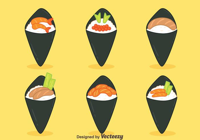 Nice Temaki Collection Vectors