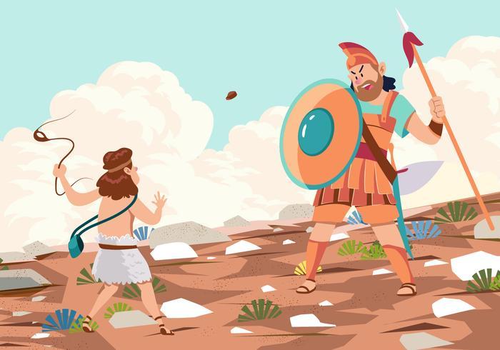 Goliath Défait Par David