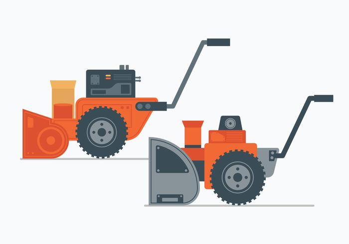 Snow Blower Illustration