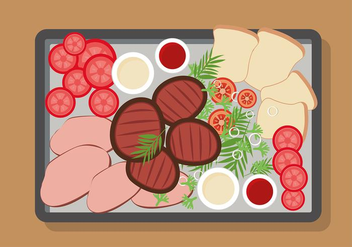 Charcuterie Plate Free Vector