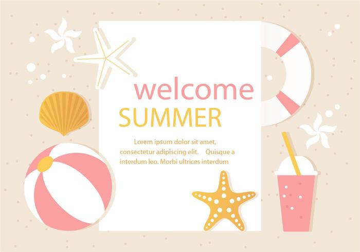 Vector Summer Time Illustration