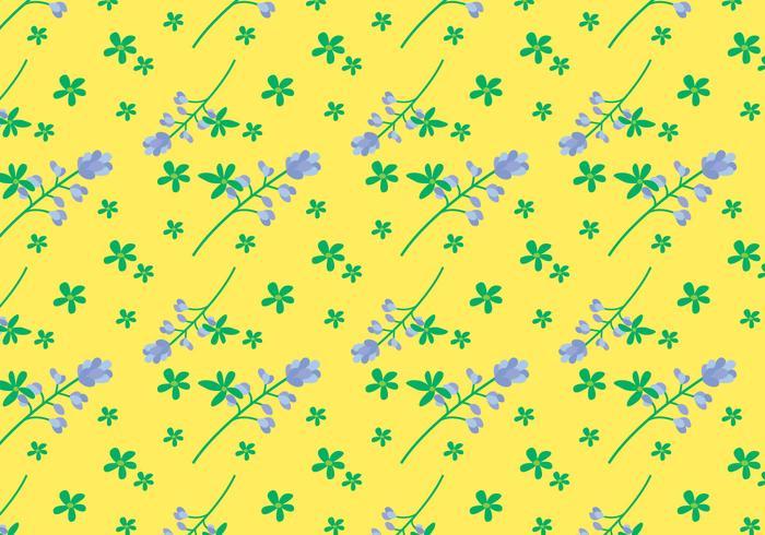 Bluebonnet Flower Pattern vector