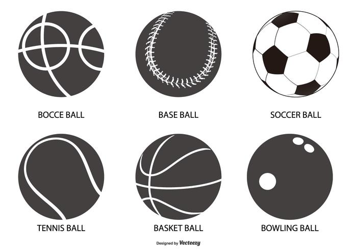 Sport Ball Shapes Collection