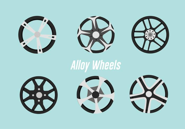 Alloy Wheels Vector Pack