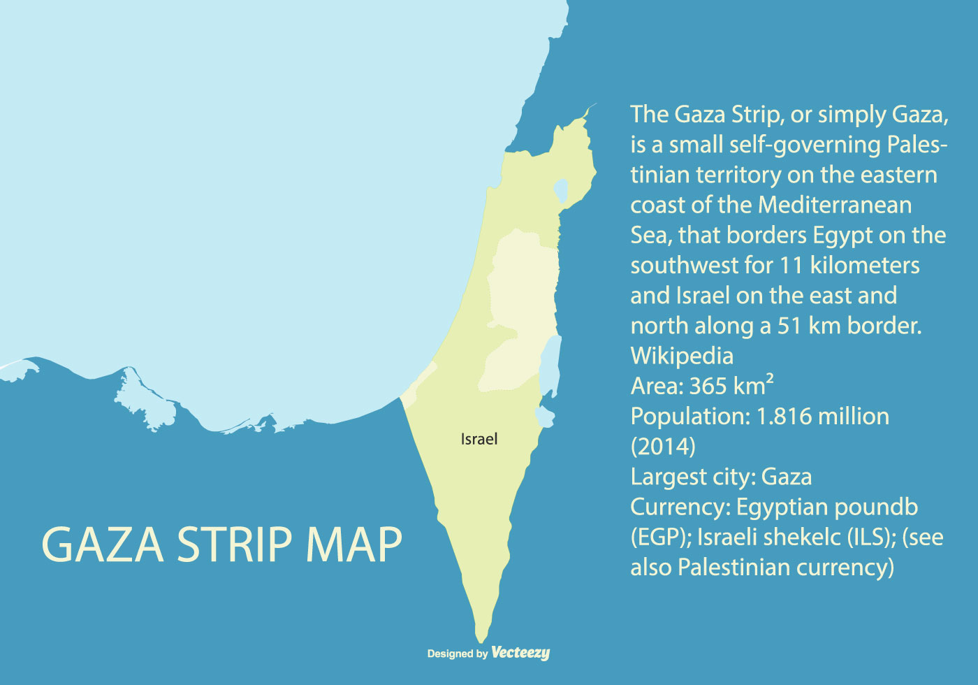Image of: Map Of Palestine Highliting The Gaza Strip Download Free Vectors Clipart Graphics Vector Art