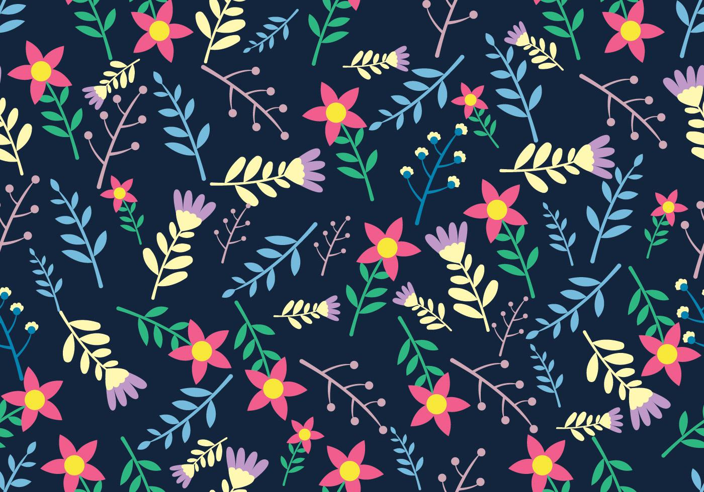 Simple Floral Wallpaper