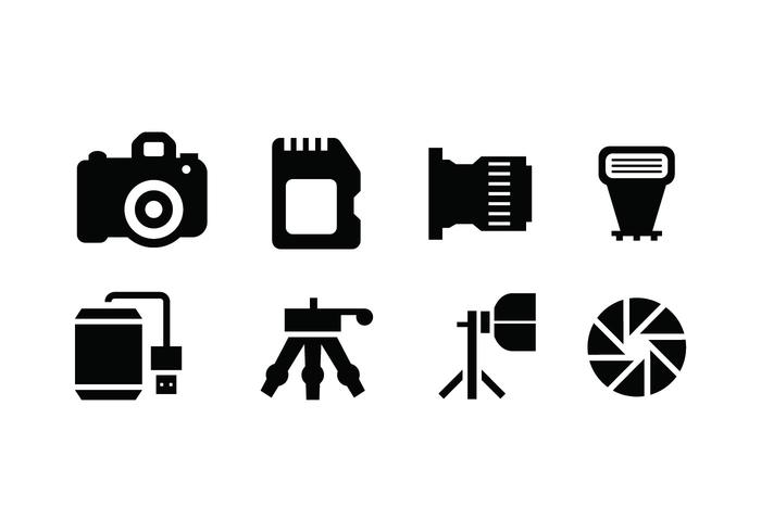 Photography tools vector icon