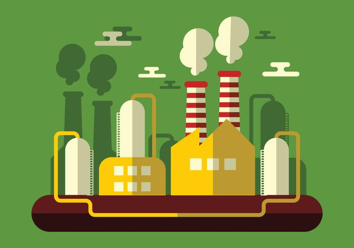 Industrie Vector Illustratie