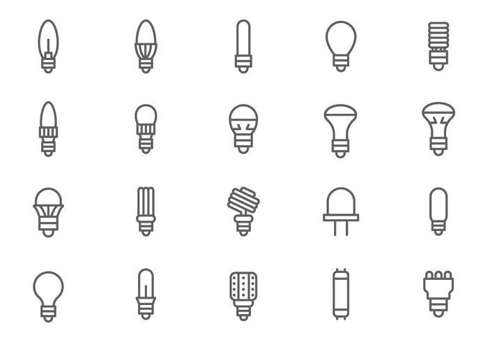 Free LED Lights Vectors