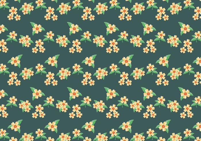 Ditsy Bloemenpatroon
