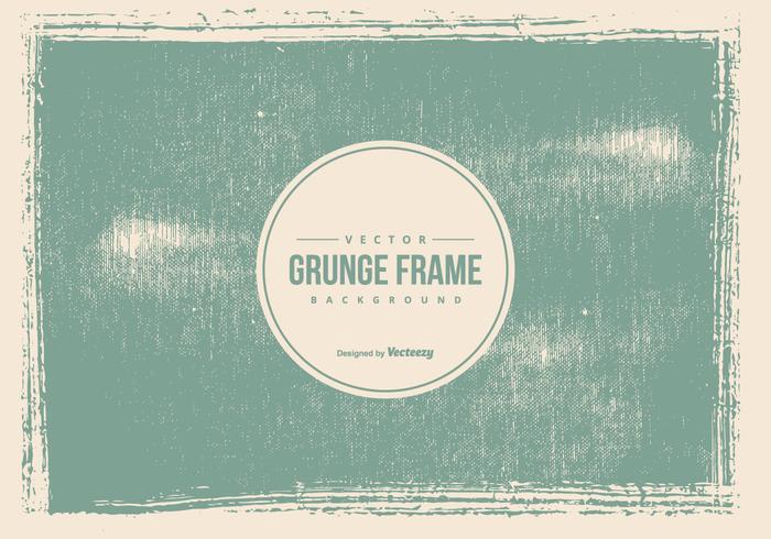 Old Grunge Frame Background
