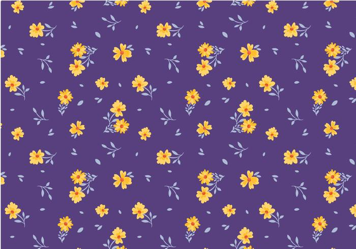 Free Ditsy Pattern Vectors