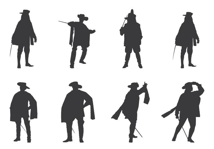 Royal Musketeers Silhouettes