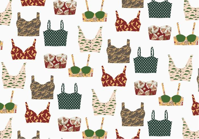 Bustier Pattern Vector