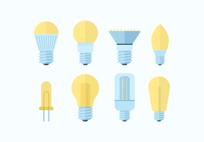 Free LED Lights Vector Pack