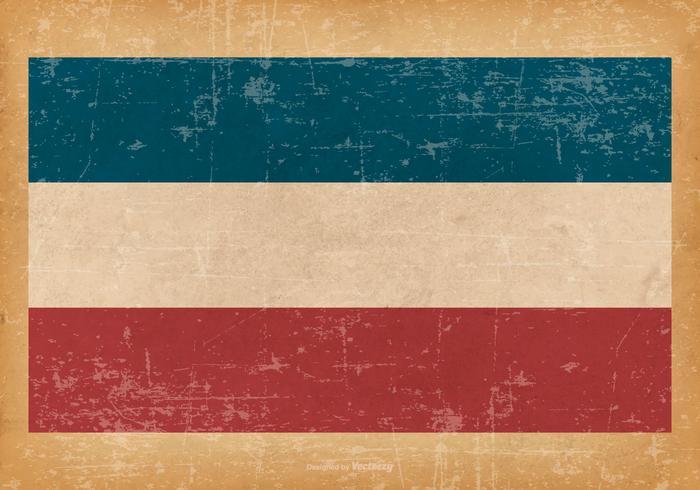 Grunge bandera de Los Altos