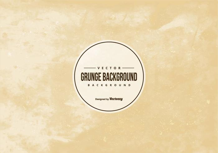 Brown Vector Grunge Background