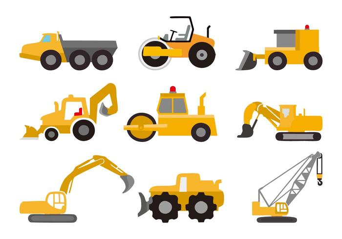 Free Vehicle Construction Vector