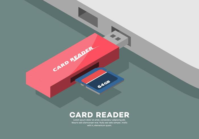 Card Reader Illustration