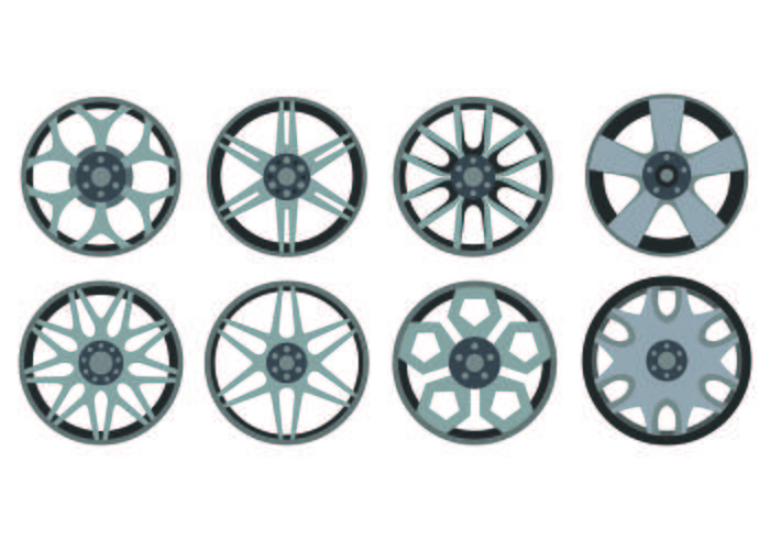 Icon Of Alloy Wheels vector