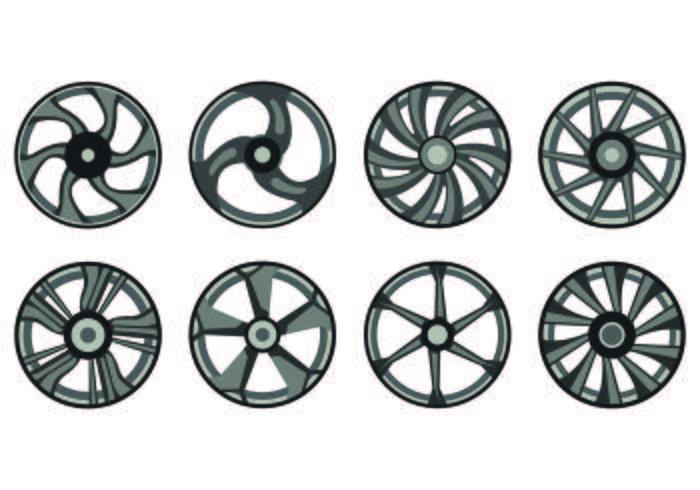 Icon Of Alloy Wheels