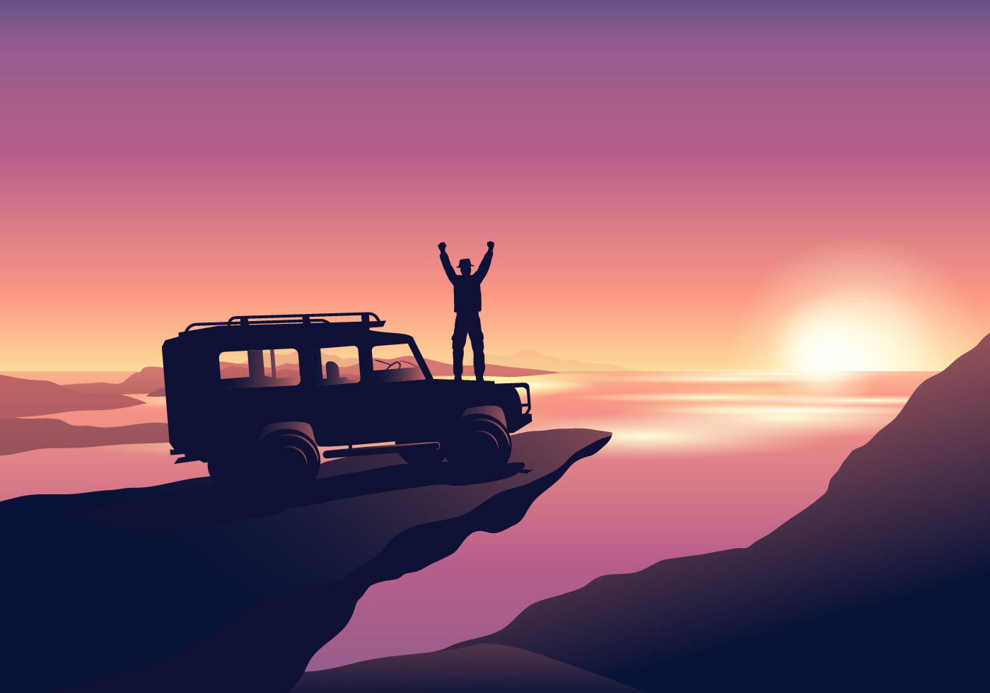 Offroad Adventure Download Free Vectors Clipart