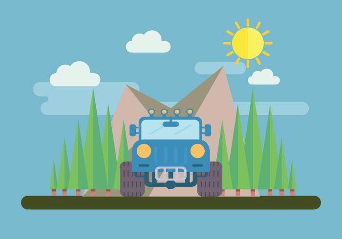 4WD Adventure Vector