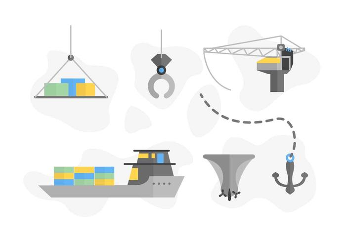 Free Unique Shipyard Vectors