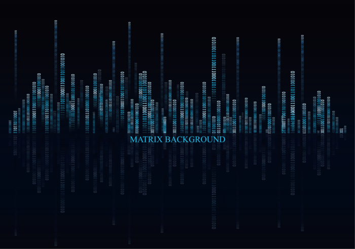 Dark Matrix Bakgrund Vector