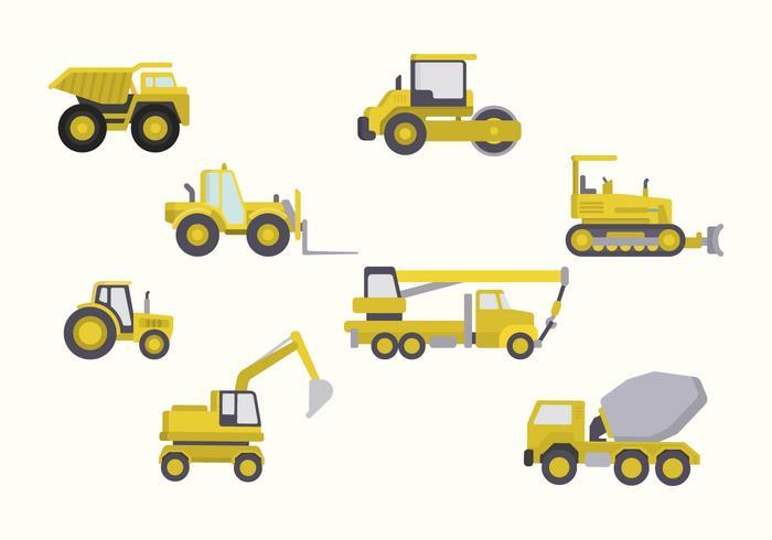 Flat Constructions Machine Vectors