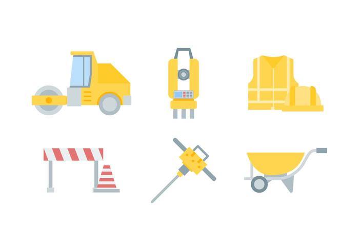 Freie hervorragende Straßenbau-Vektoren
