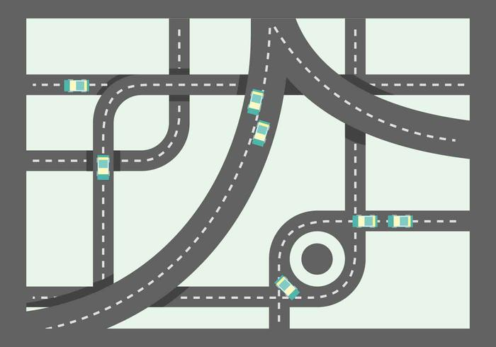 Free Unique Roadmap Vectors