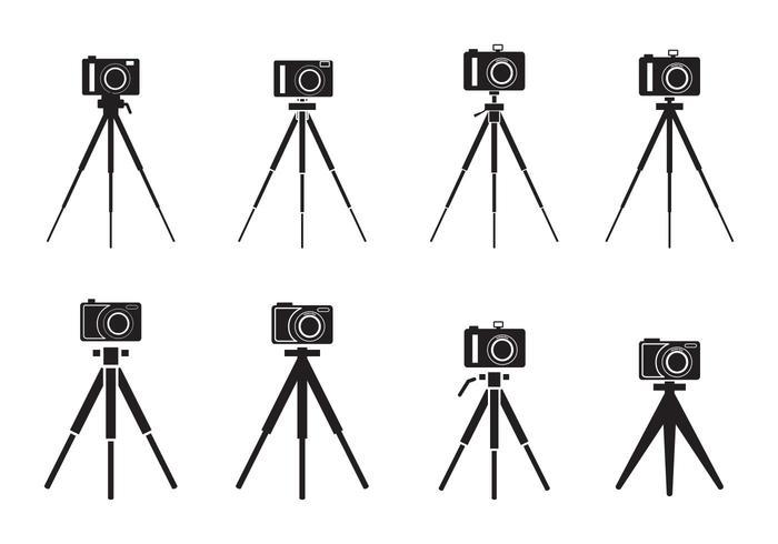 Camera Statief Silhouet
