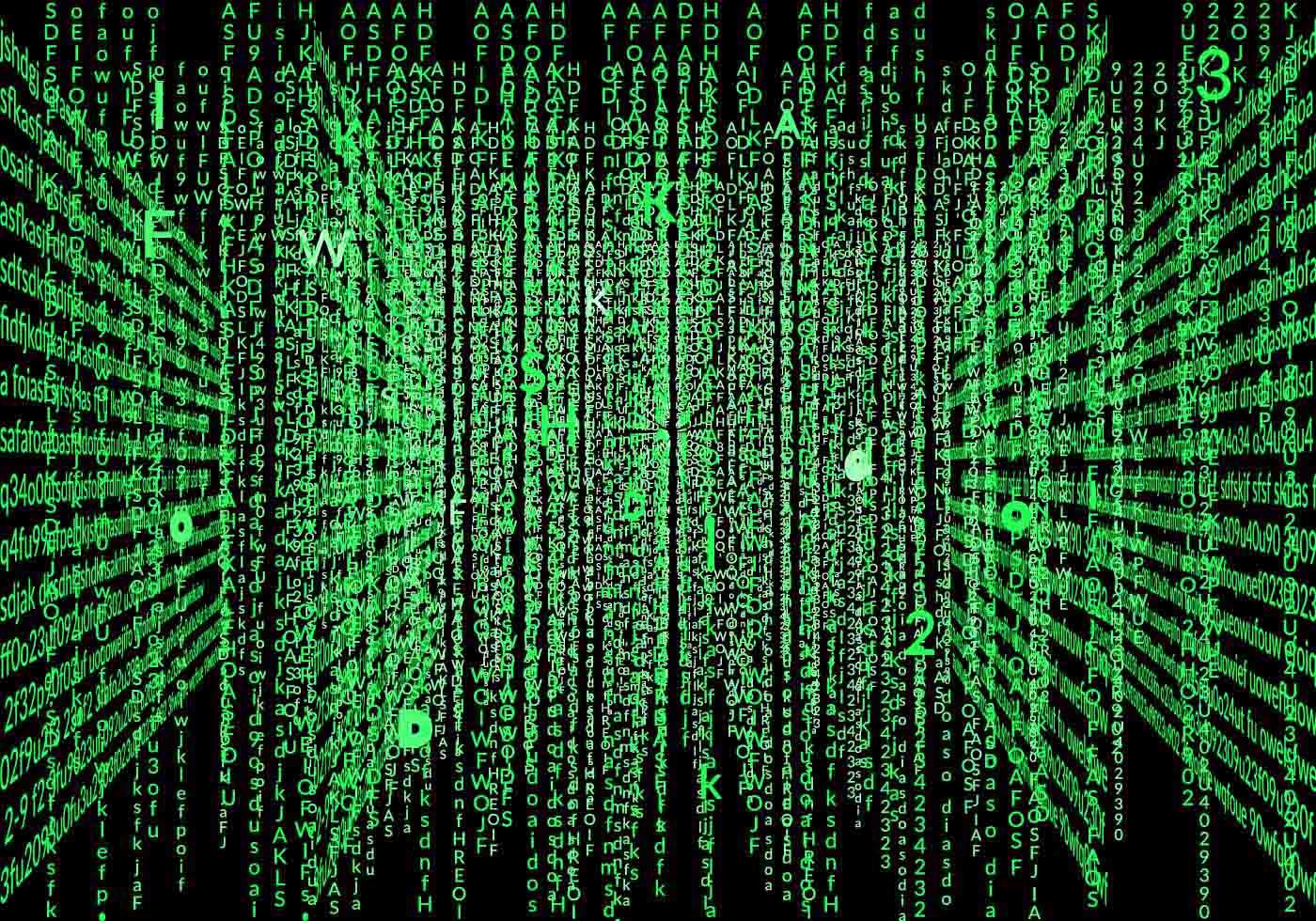 Cool Matrix Hintergrund Vektor Kostenlose Vektor Kunst