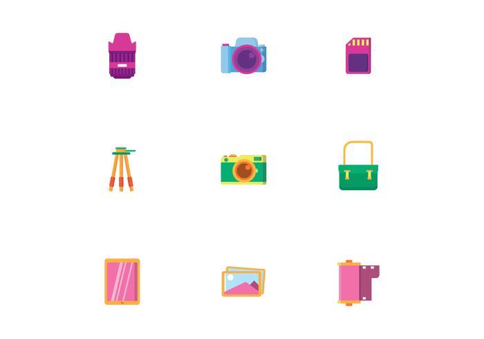 Camera-apparatuur vector