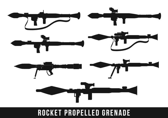 Rpg Missile Silhouette