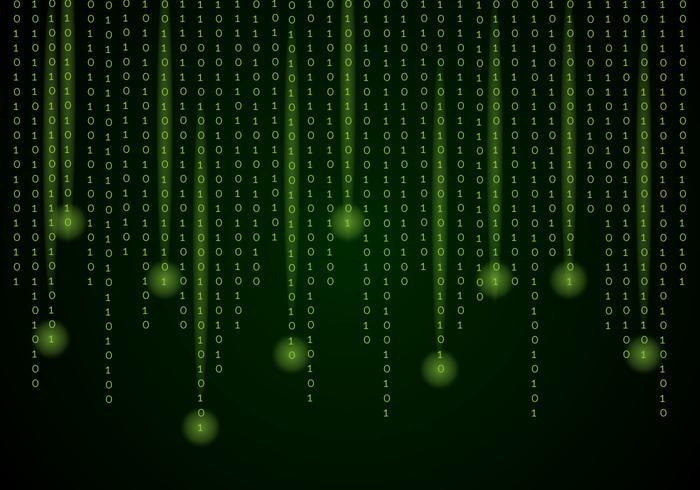 Matrix Background Vector
