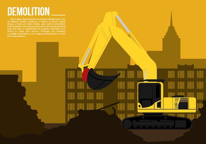 Demolition Free Vector