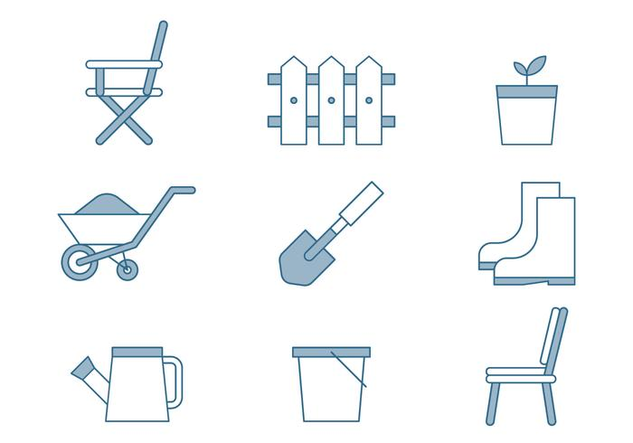 Lawn Care Icons
