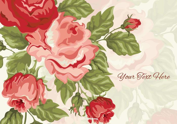 Mooie Lente Bloemen Achtergrond