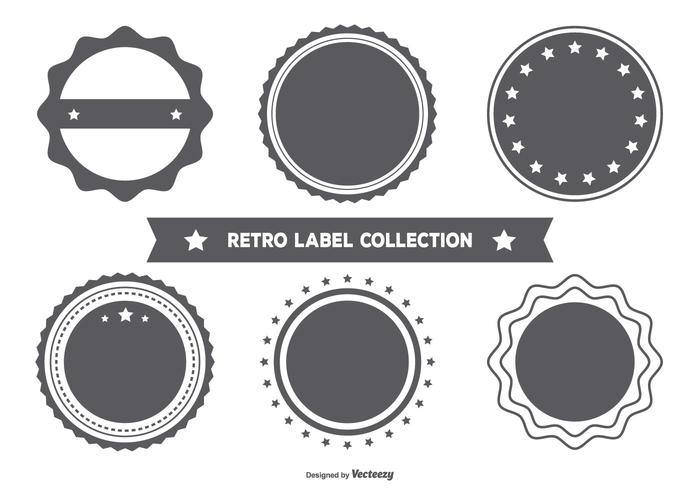 Lege Retro Style Badge Collection