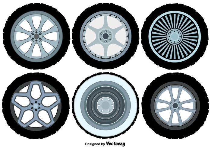 Vector Alloy Wheels Set