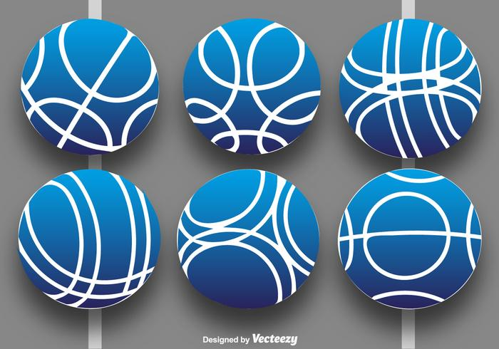 Vector Collection Of Bocce Balls