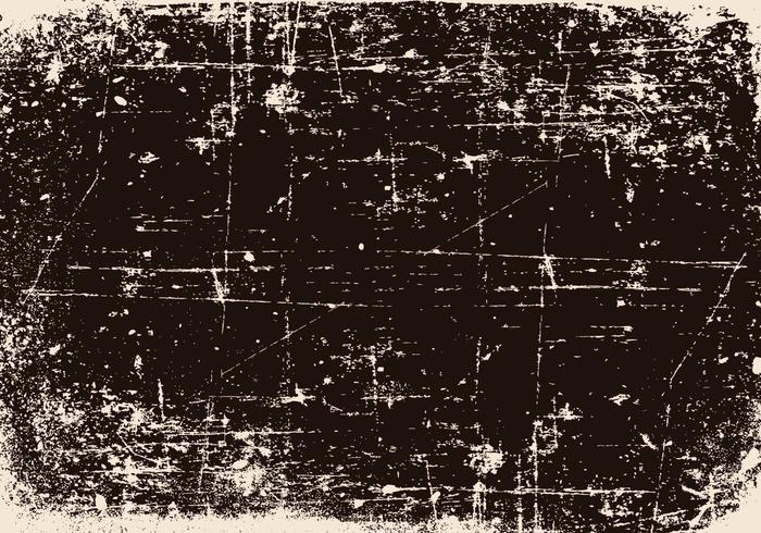 Schwarzer zerkratzter Grunge-Hintergrund