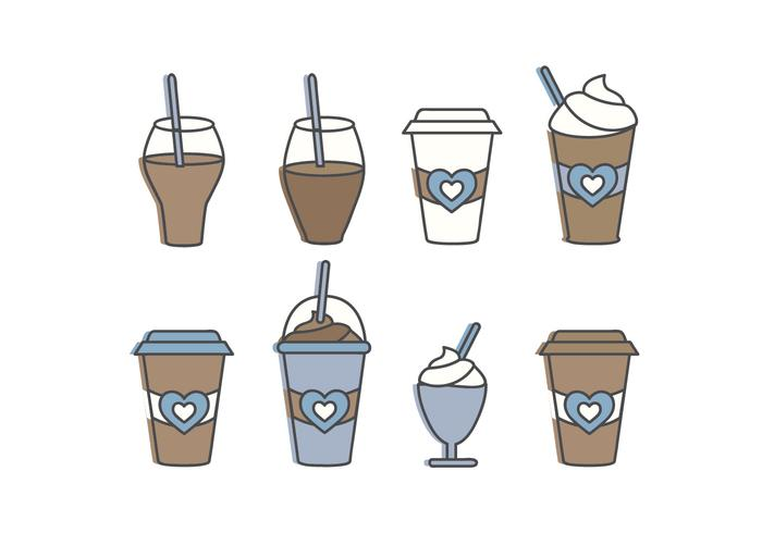 Outline Vector Beverages