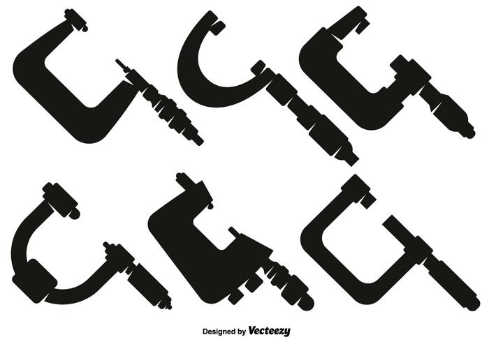 Vector Collection Of Micrometer Icons