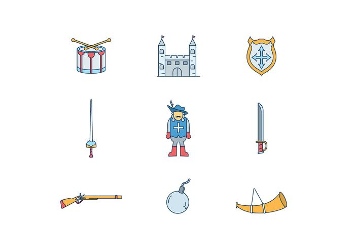 Musketier Icons