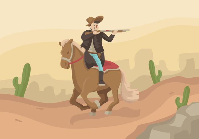 Horseman Cavalry Vector Illustratie