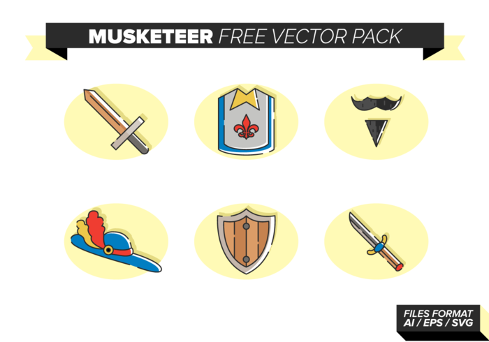 Musketeer Gratis Vector Pack